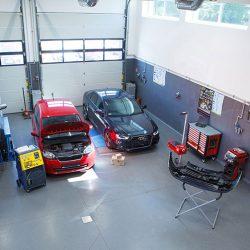 Automobile service samochodów